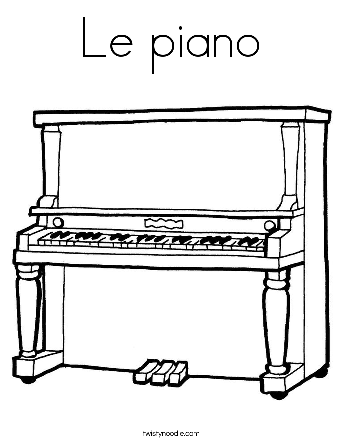 piano pictures to color piano coloring page coloringcrewcom color pictures to piano