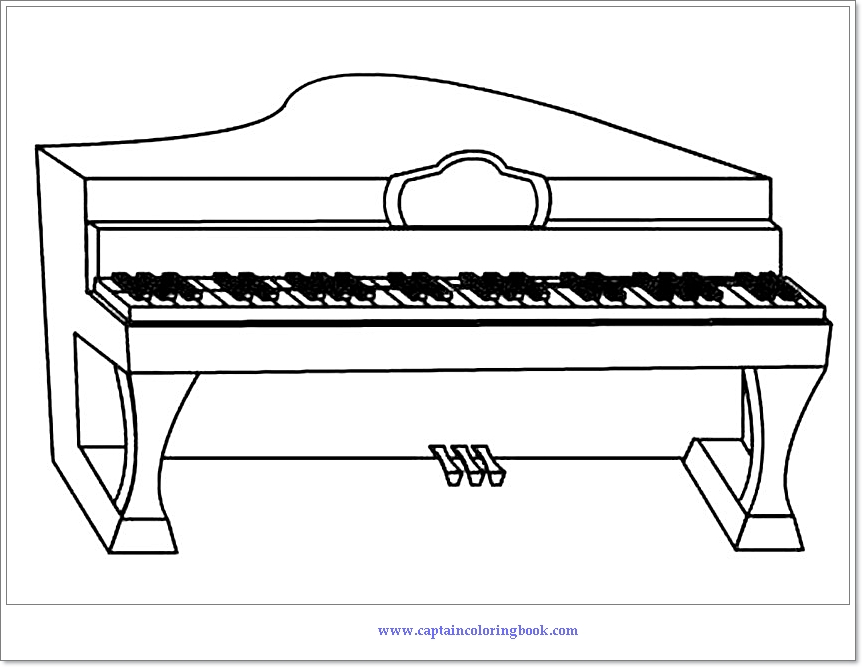 piano pictures to color piano coloring pages kidsuki to piano color pictures
