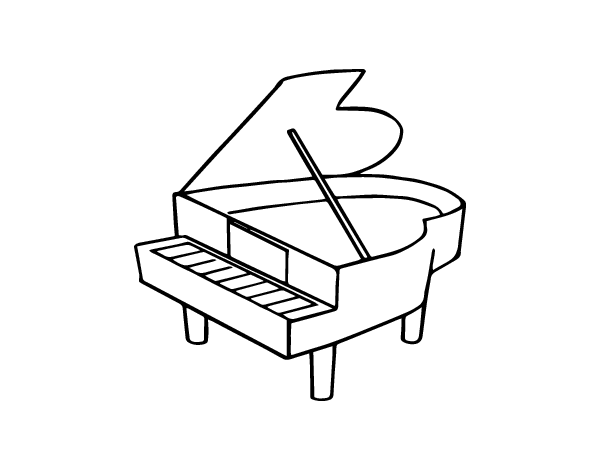 piano pictures to color piano coloring pages kidsuki to pictures color piano