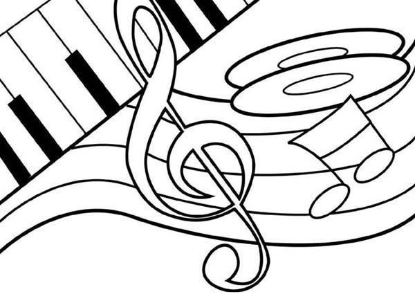 piano pictures to color piano coloring pages piano pictures to color