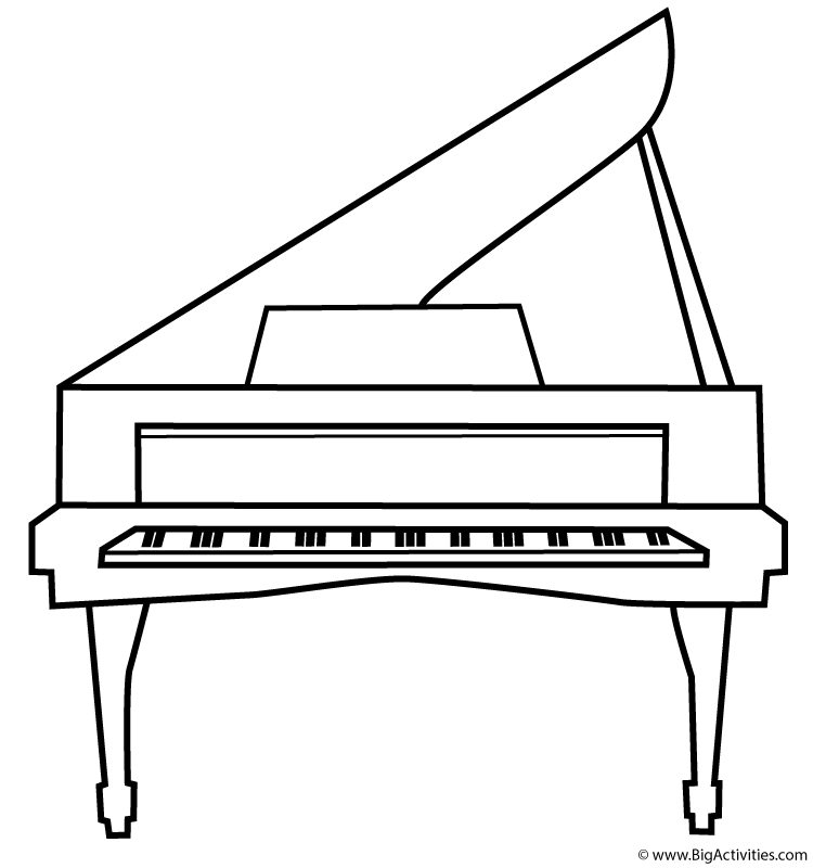 piano pictures to color piano coloring pages to download and print for free piano to pictures color