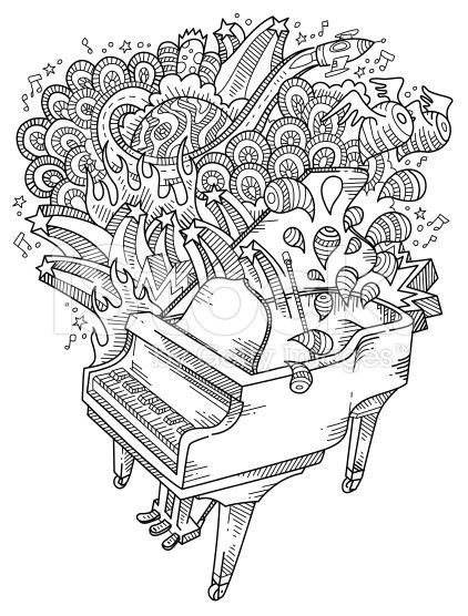 piano pictures to color piano doodles neat and detailed strokes intact color to pictures piano
