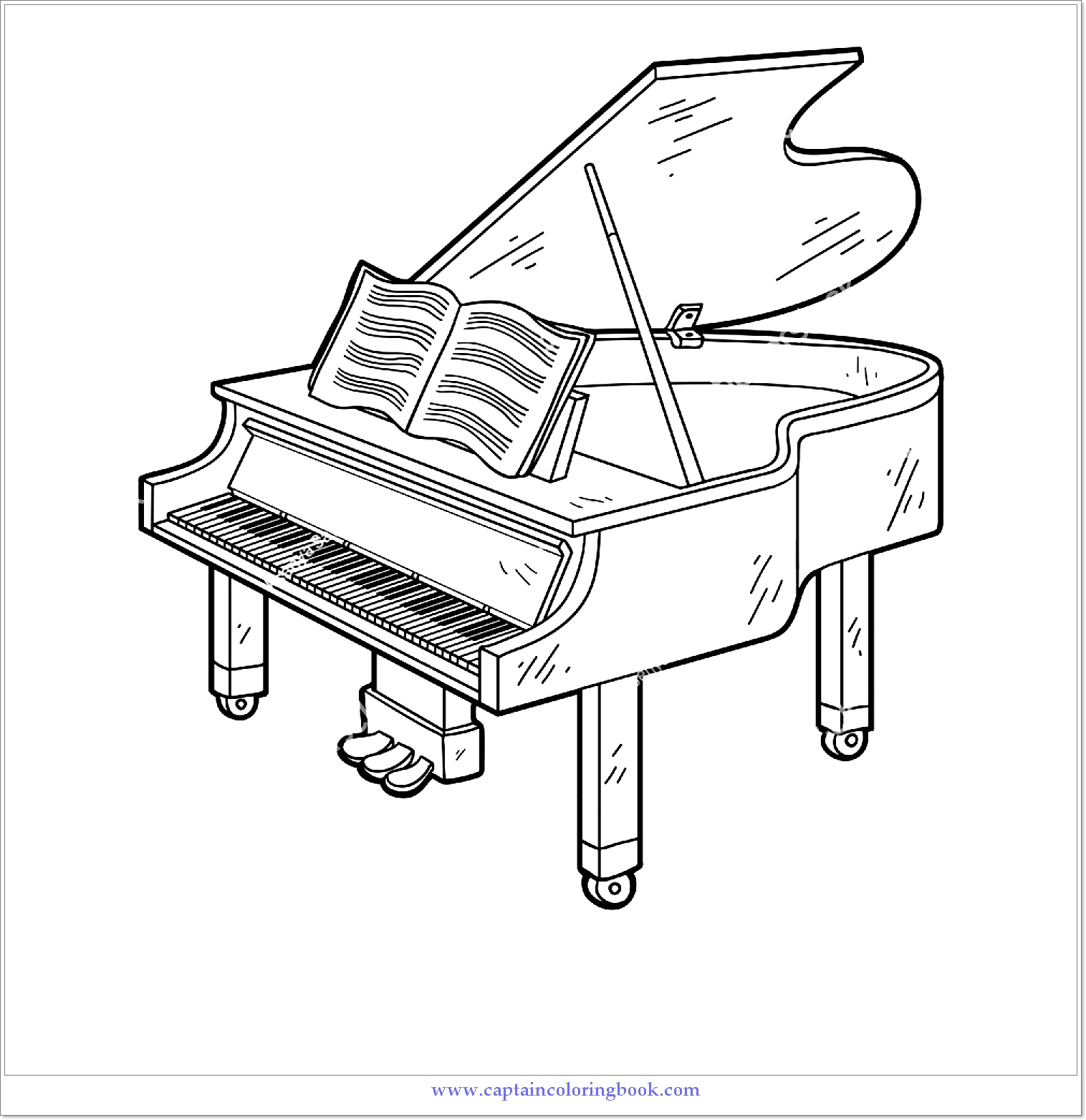 piano pictures to color piano keyboard coloring page at getcoloringscom free piano pictures color to