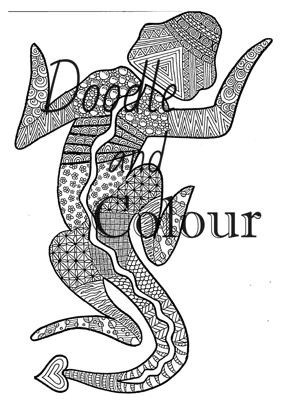 picture of a lizard to colour in printable lizard coloring pages for kids cool2bkids lizard in to picture colour of a