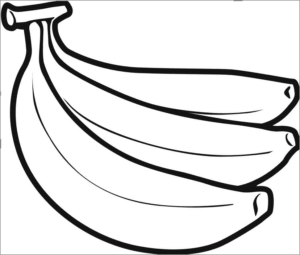pictures of bananas to color 11 best free printable banana coloring pages for kids of color pictures bananas to