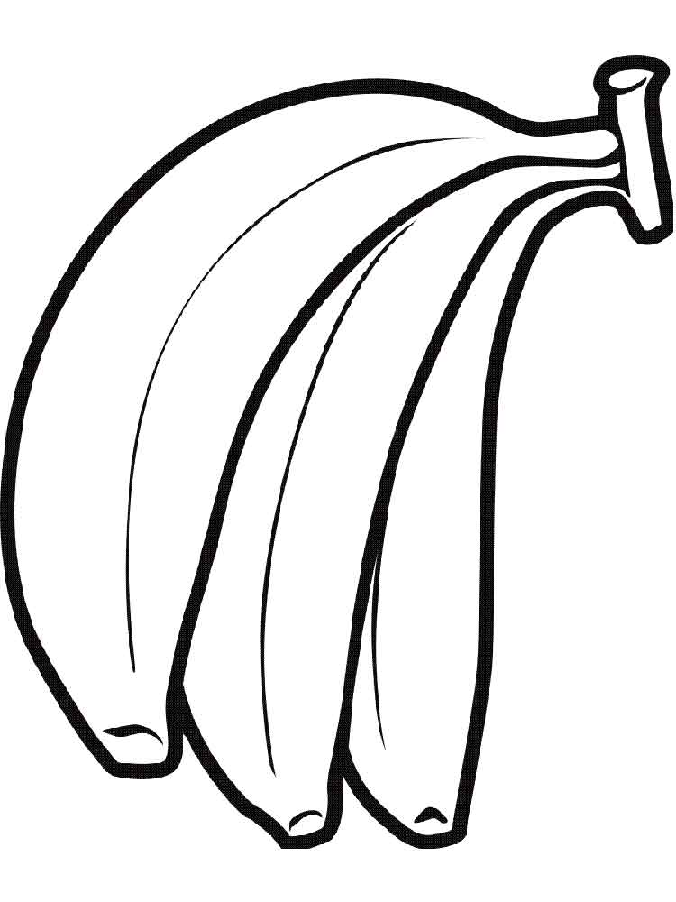 pictures of bananas to color 23 great picture of banana coloring page birijuscom bananas color of pictures to