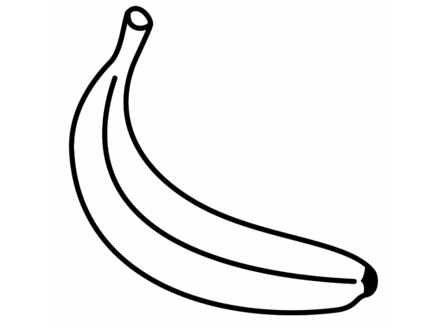pictures of bananas to color banana coloring page free printable coloring pages color pictures of to bananas