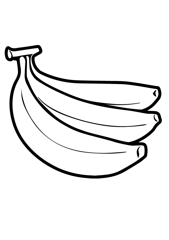 pictures of bananas to color banana coloring pages print coloring home pictures to color of bananas
