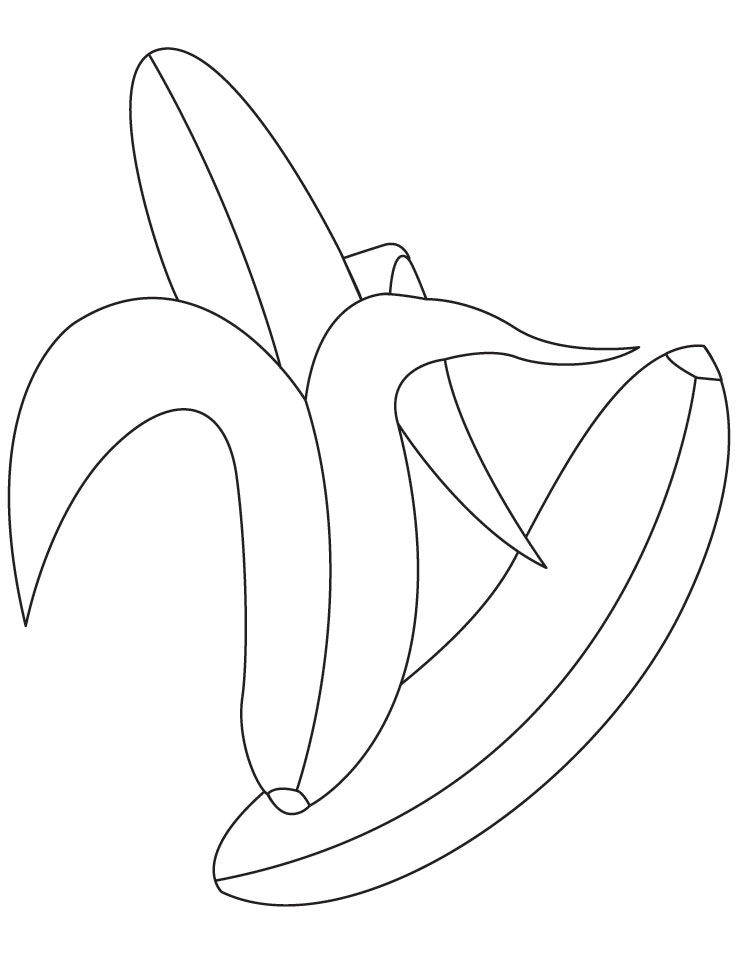 pictures of bananas to color banana coloring pages to download and print for free of color bananas pictures to