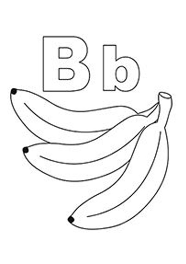 pictures of bananas to color collection of banana coloring pages stpetefestorg pictures of bananas color to