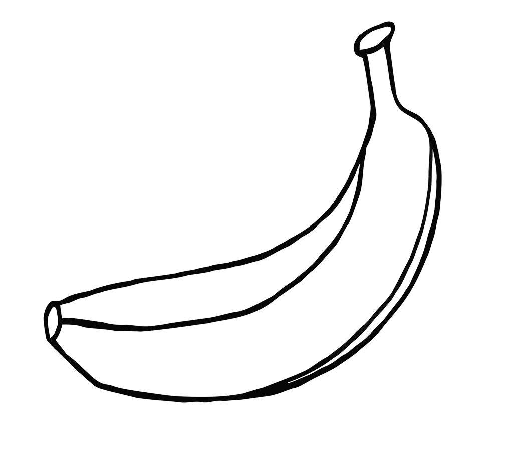 pictures of bananas to color snubberx coloring pages banana bananas pictures color of to