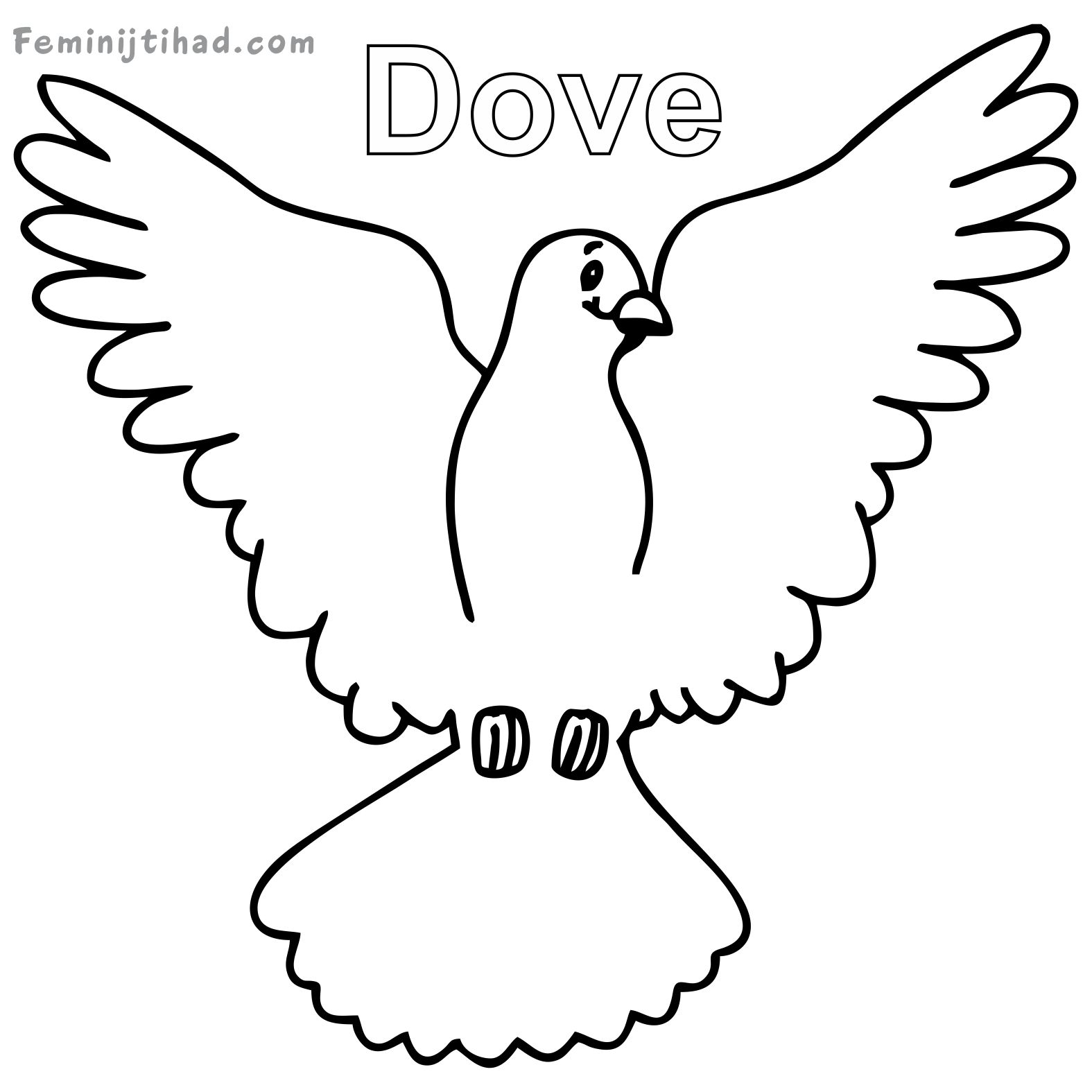 pictures of doves to color dove coloring page at getcoloringscom free printable doves to of color pictures