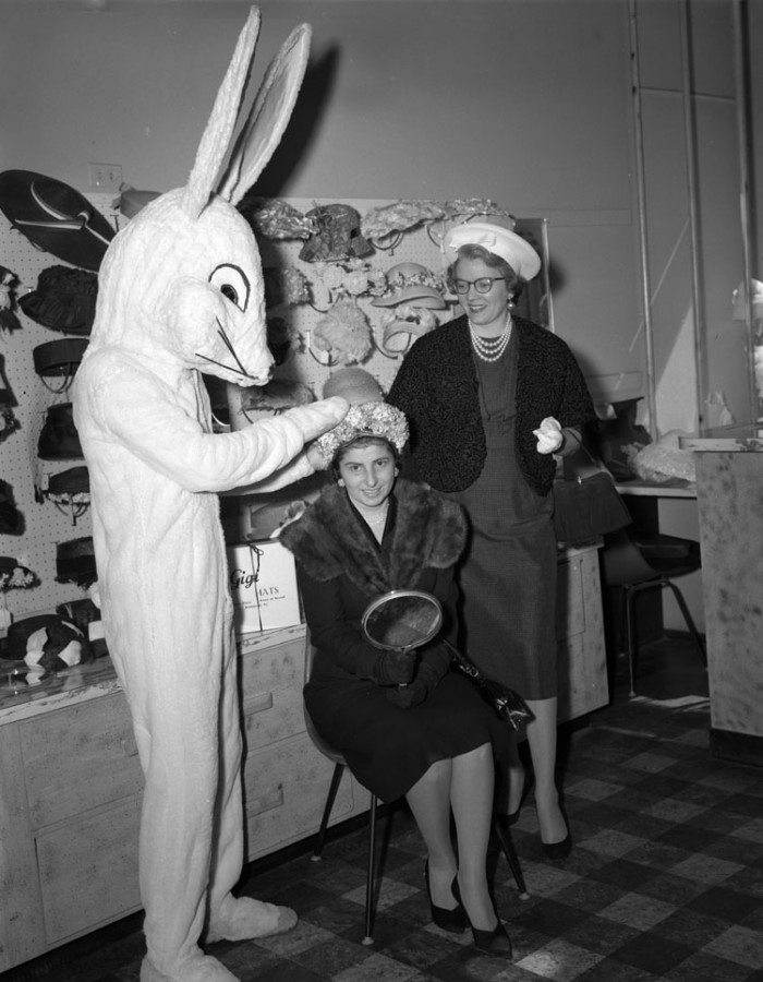 pictures of easter bunny 14 mesmerizing photos of virginia in the 1950s easter bunny pictures of