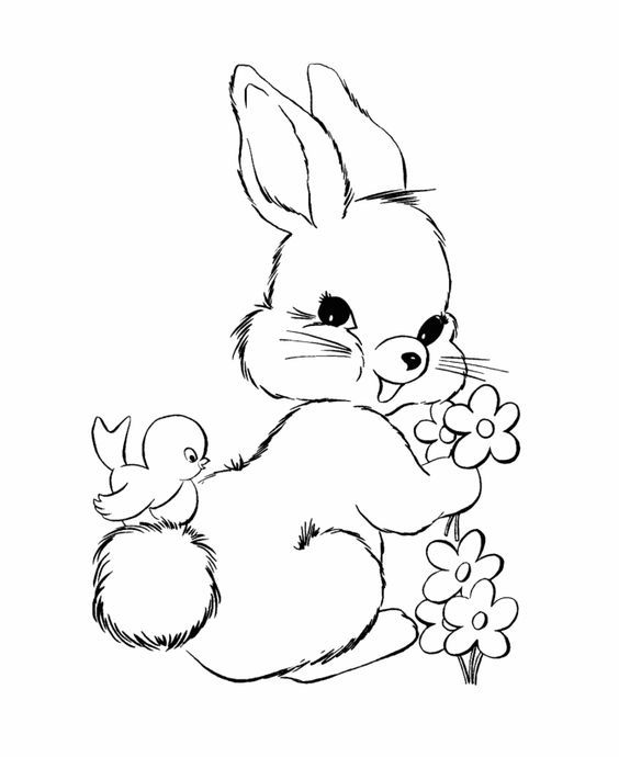pictures of easter bunny easter bunny coloring pages bluebonkers fluffy easter bunny of easter pictures