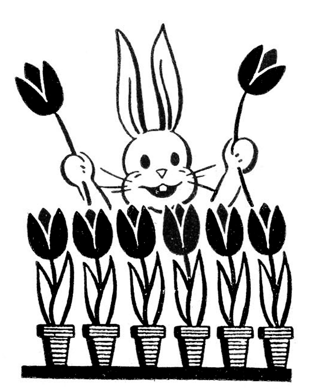 pictures of easter bunny retro easter bunny images the graphics fairy bunny of pictures easter