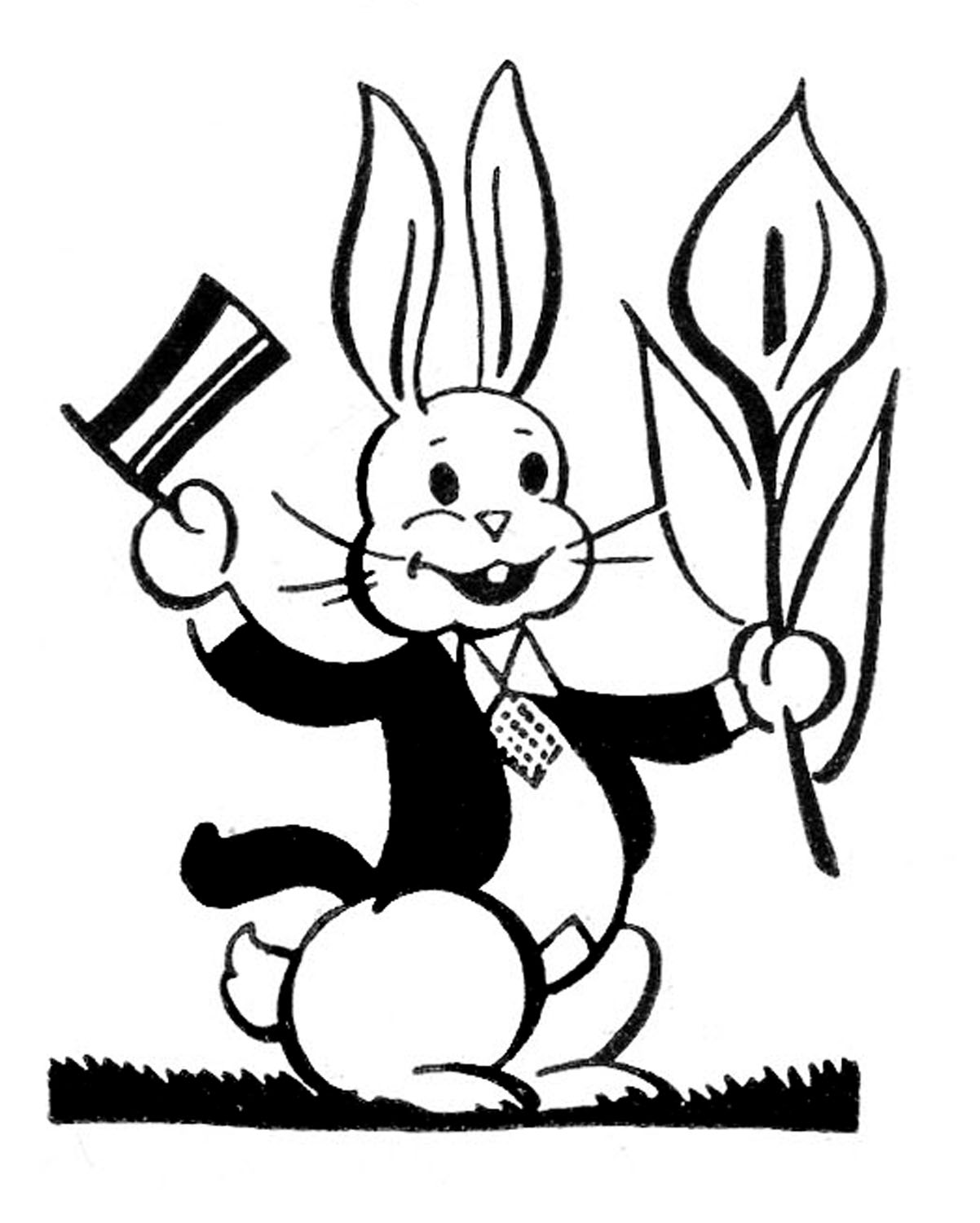 pictures of easter bunny retro easter bunny images the graphics fairy easter bunny of pictures