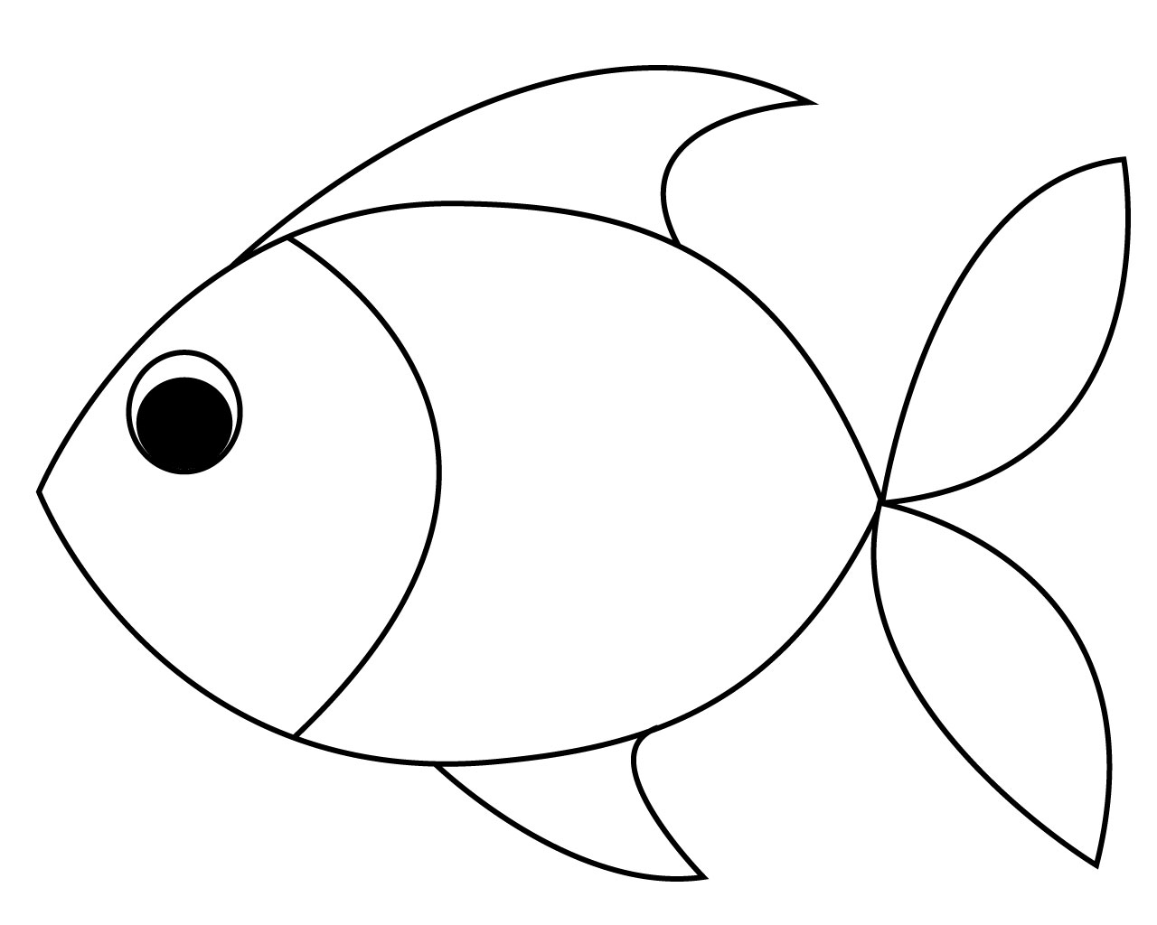 pictures of fish to color fish coloring pages for toddler of to color fish pictures