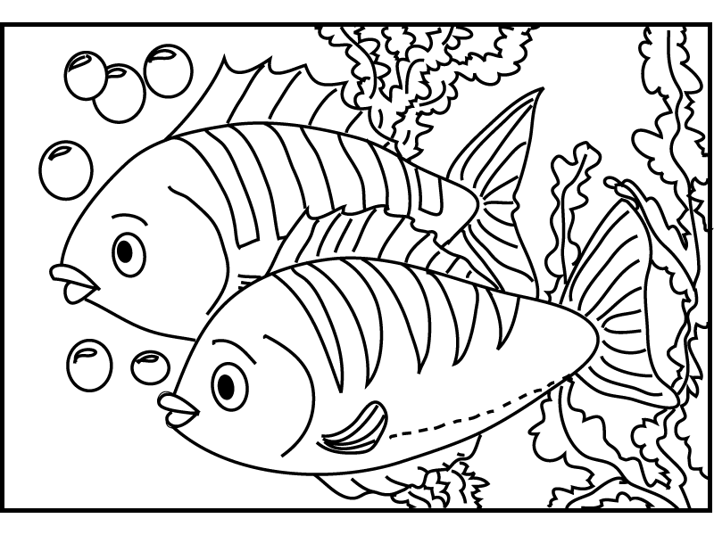 pictures of fish to color free printable fish coloring pages coloring home fish of to pictures color