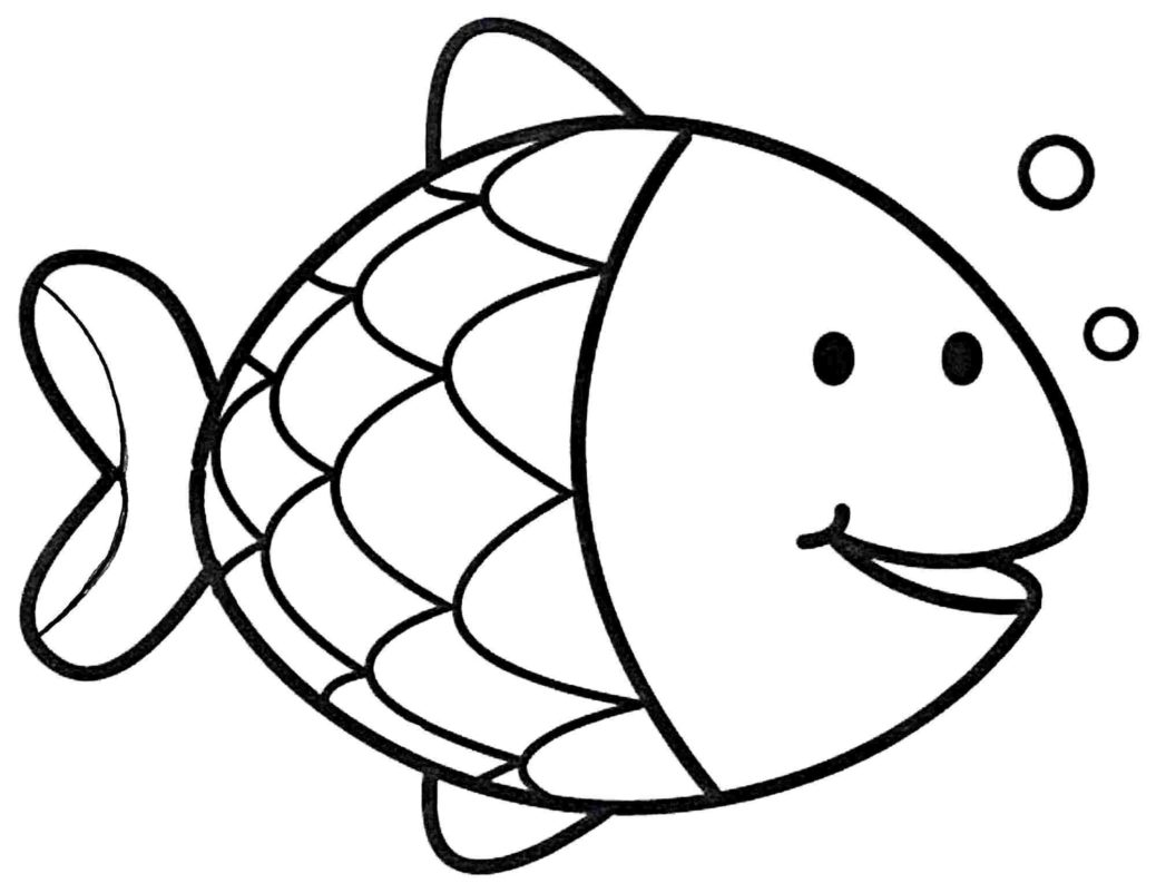 pictures of fish to color ocean fish drawing free download on clipartmag of pictures to fish color