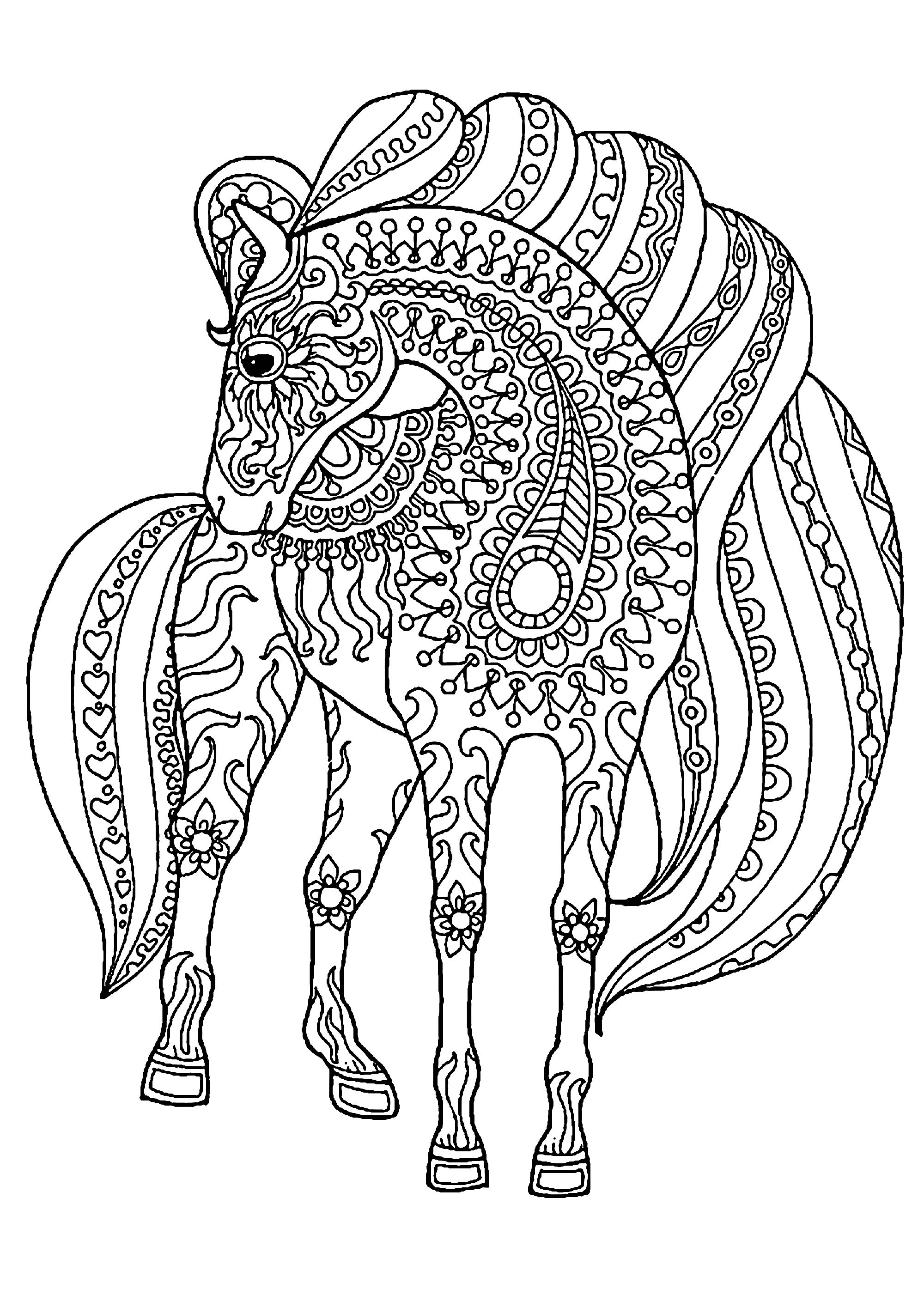 pictures of horses to colour in horse coloring pages for kids coloring pages for kids pictures horses in colour to of