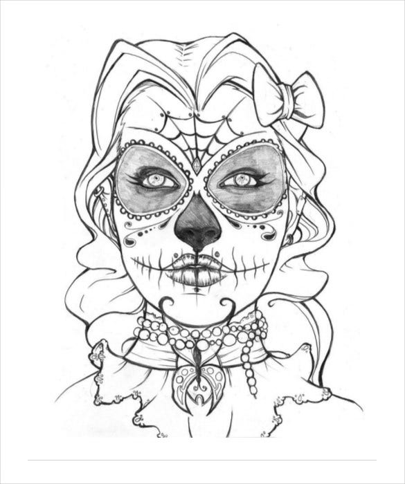 pictures of skulls to color how to draw a war skull step by step skulls pop culture skulls color pictures to of