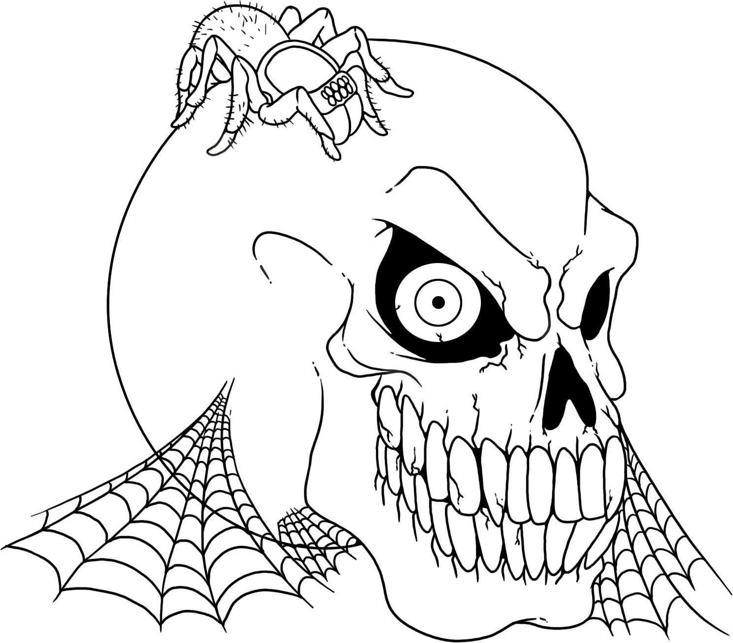 pictures of skulls to color kids colouring skull and crossbones coloring home of to pictures skulls color