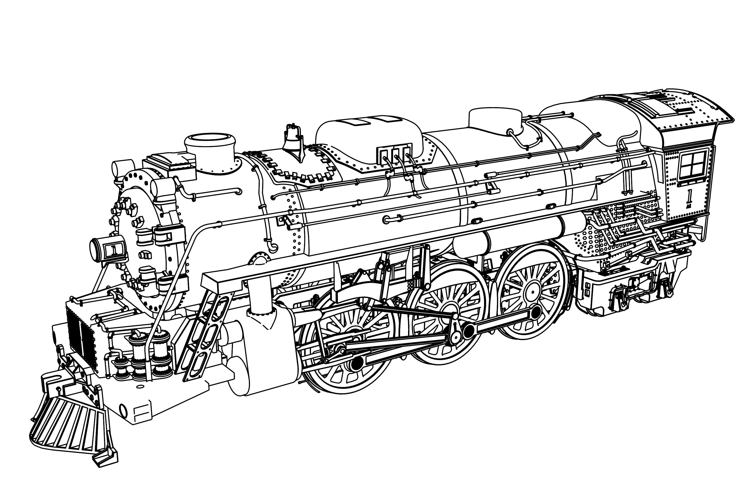 pictures of steam trains to colour big boy steam train coloring pages jesyscioblin to steam pictures of trains colour