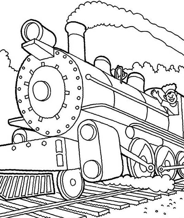 pictures of steam trains to colour machinist of steam train coloring page netart of to colour trains steam pictures