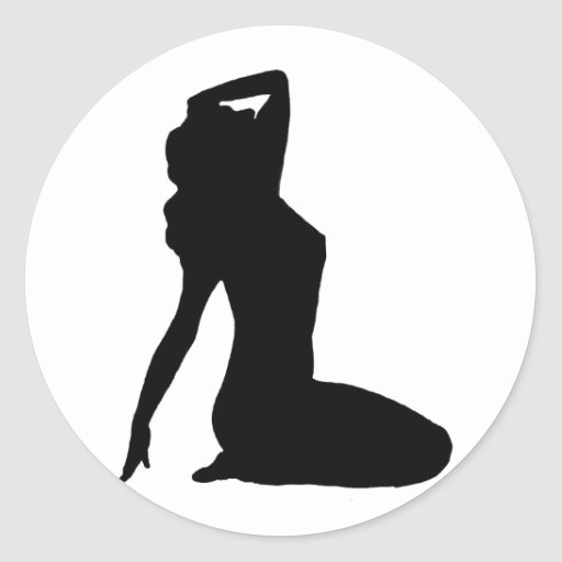 pin up silhouette classy vintage pin up woman silhouette classic round pin up silhouette