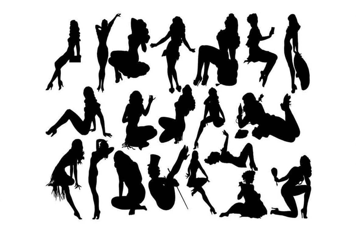 pin up silhouette pin up girl silhouette free stock photo public domain up silhouette pin