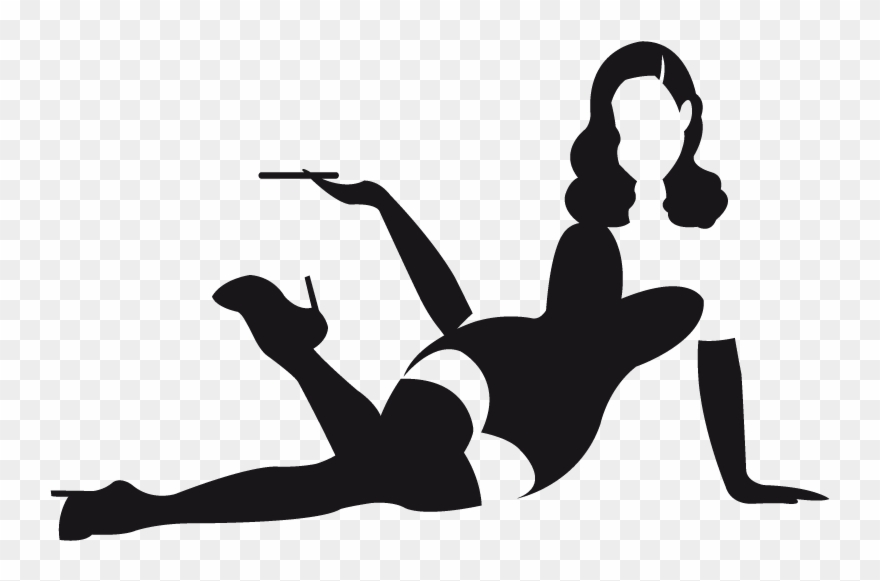 pin up silhouette sexy silhouette pin up girl window wall decal vinyl car up silhouette pin