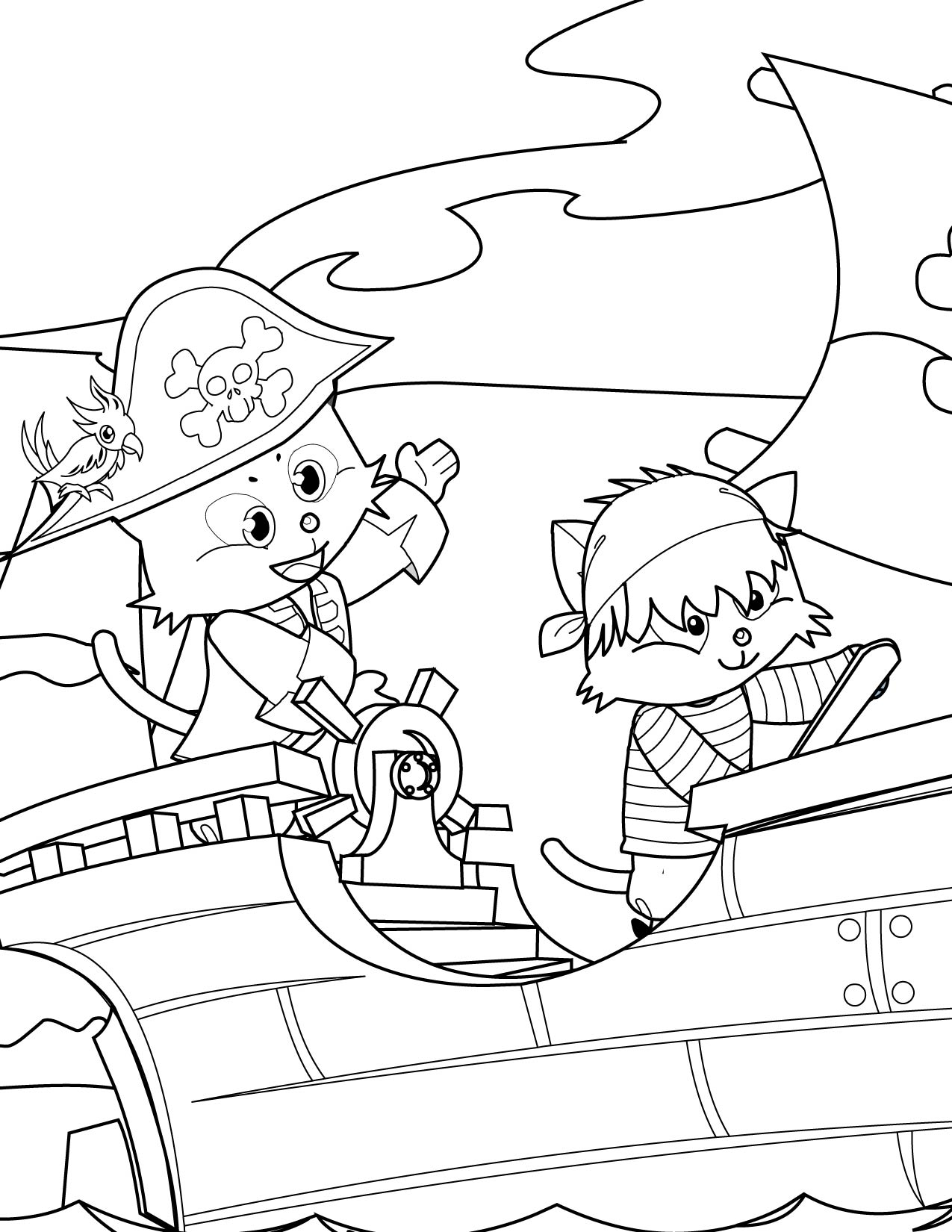 pirate coloring pages for kids printable pirate coloring pages to download and print for free for coloring pages kids printable pirate