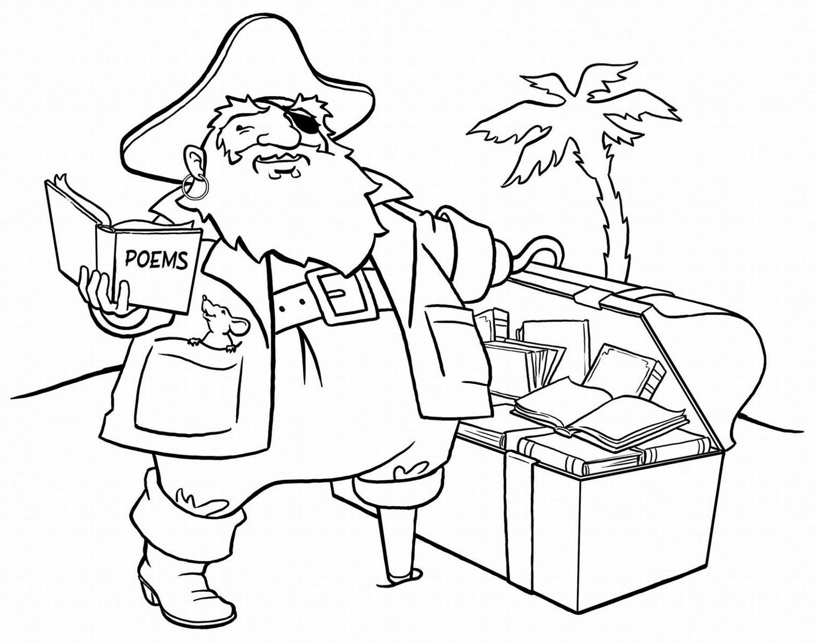 pirate images to colour coloring page pirate with an ax to pirate colour images