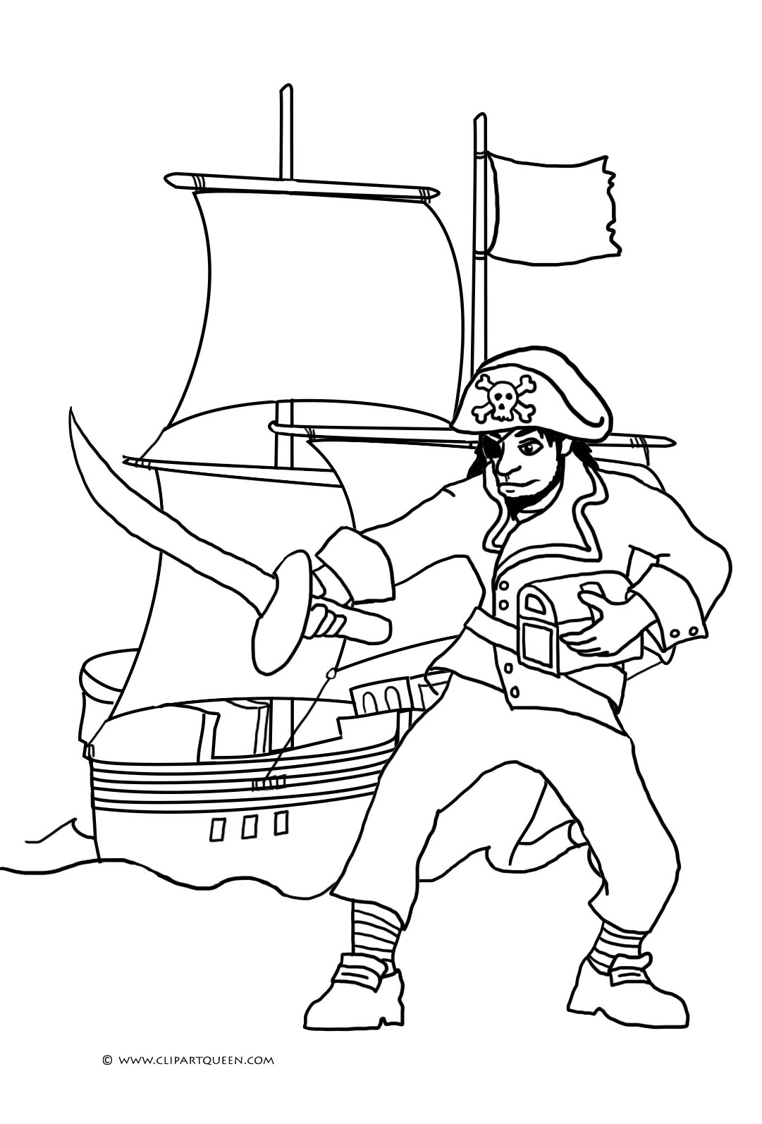 pirate images to colour pirate color pages activity shelter to colour images pirate