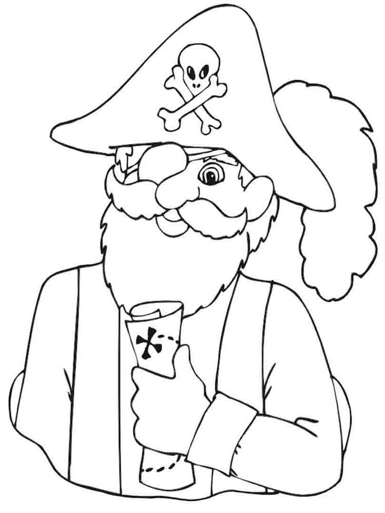 pirate images to colour pirate coloring pages downloadable freely educative to pirate colour images