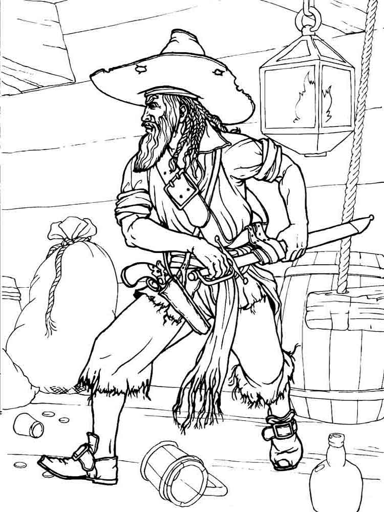 pirate images to colour pirate coloring pages to download and print for free colour to pirate images