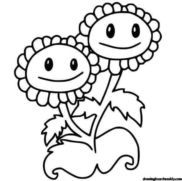 plants vs zombies coloring pages games plant vs zombie coloring page drawing board weekly games zombies vs plants pages coloring