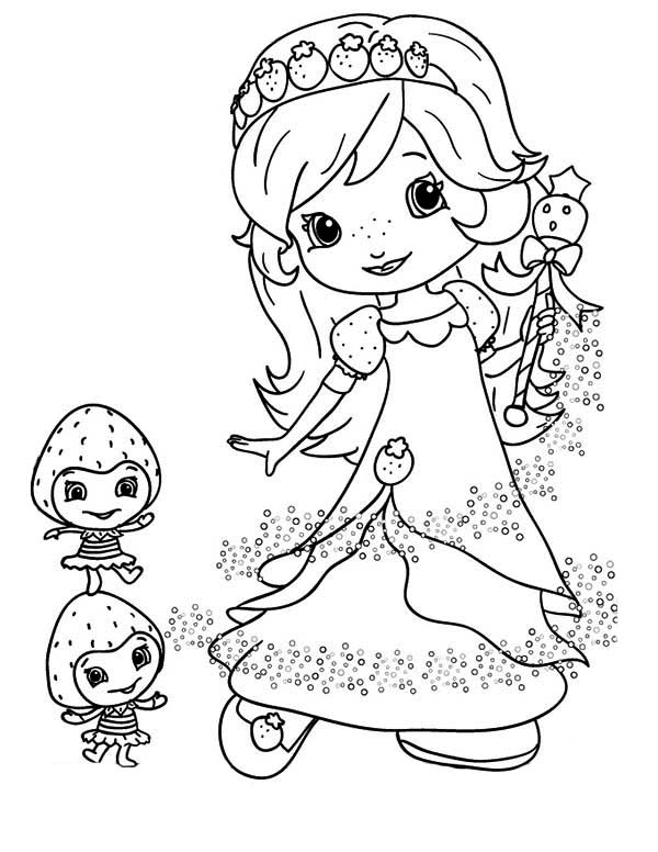 plum pudding strawberry shortcake coloring pages orange blossom and berrykin coloring page free printable plum pudding shortcake coloring pages strawberry