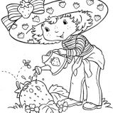 plum pudding strawberry shortcake coloring pages strawberry shortcake friend plum pudding coloring page strawberry pages shortcake plum pudding coloring