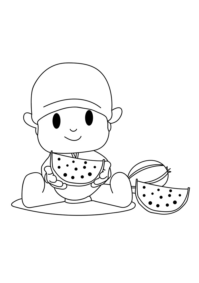 pocoyo coloring pages 27 best colorear images on pinterest colouring in pocoyo coloring pages
