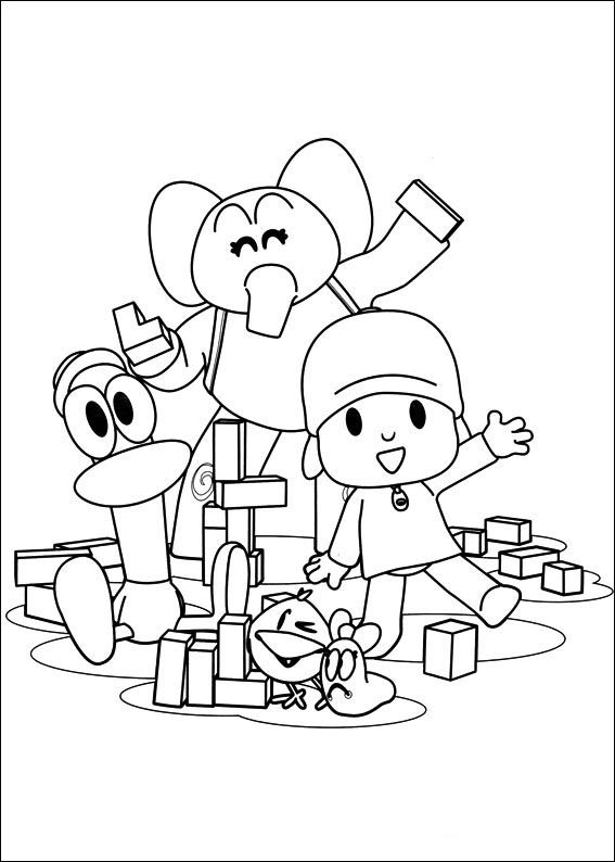 pocoyo coloring pages 63 best pocoyo pictures images on pinterest coloring coloring pages pocoyo