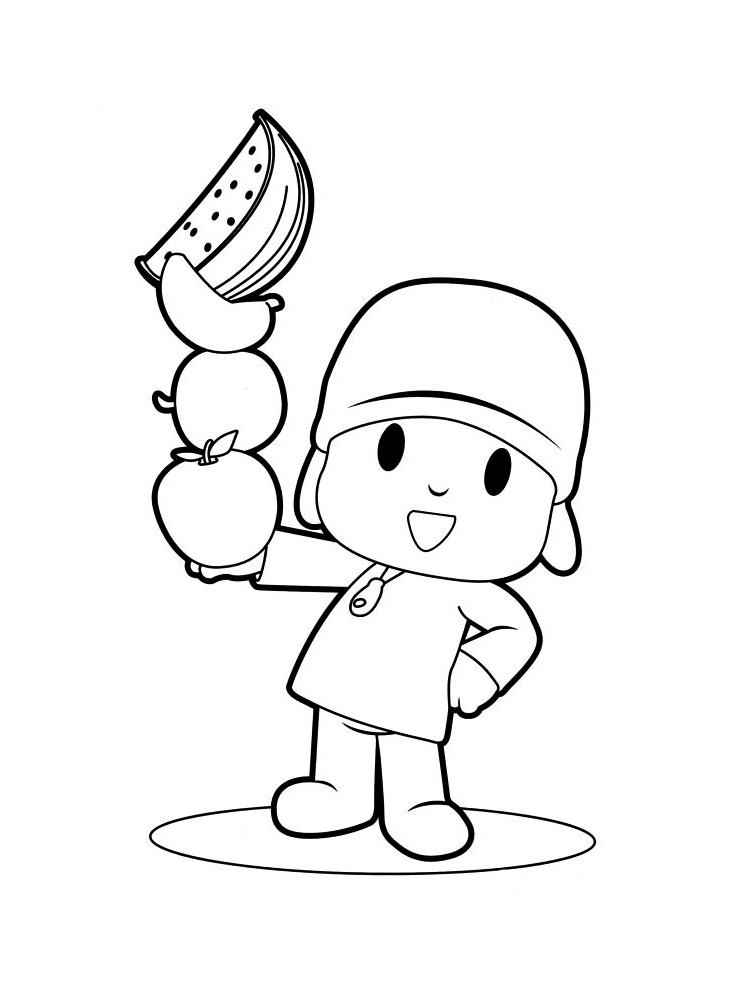 pocoyo coloring pages pin by m coloring page on mcoloring in 2019 pocoyo pocoyo pages coloring