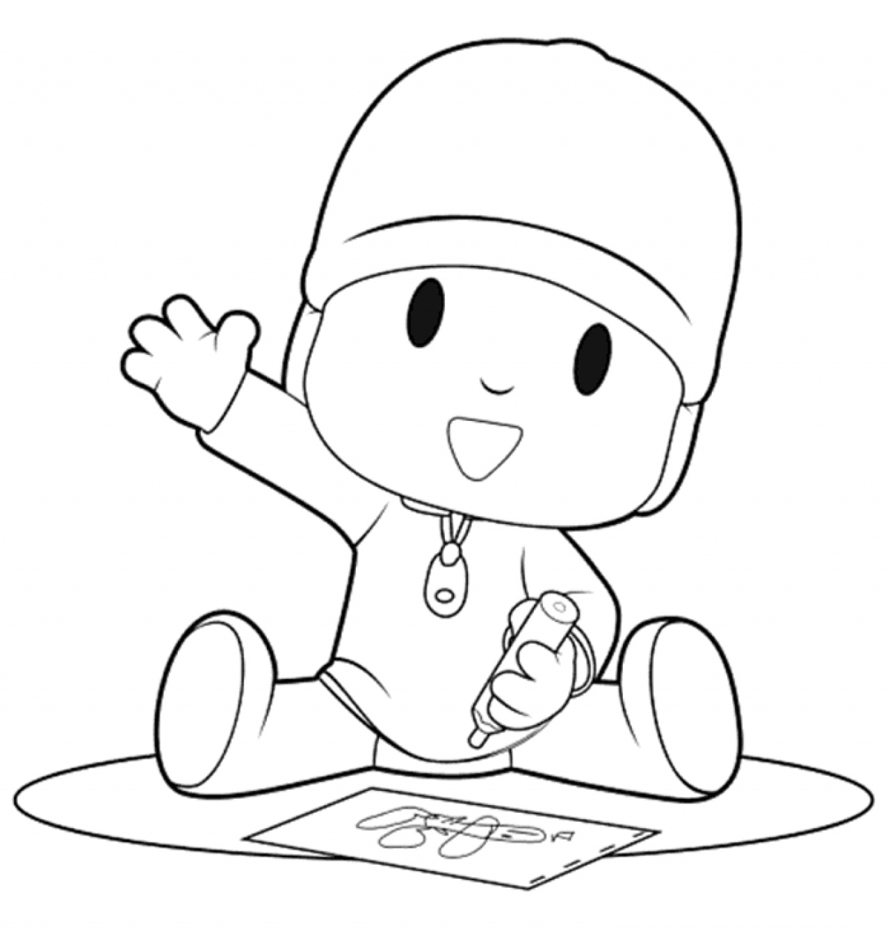 pocoyo coloring pages pocoyo coloring pages to download and print for free pages coloring pocoyo