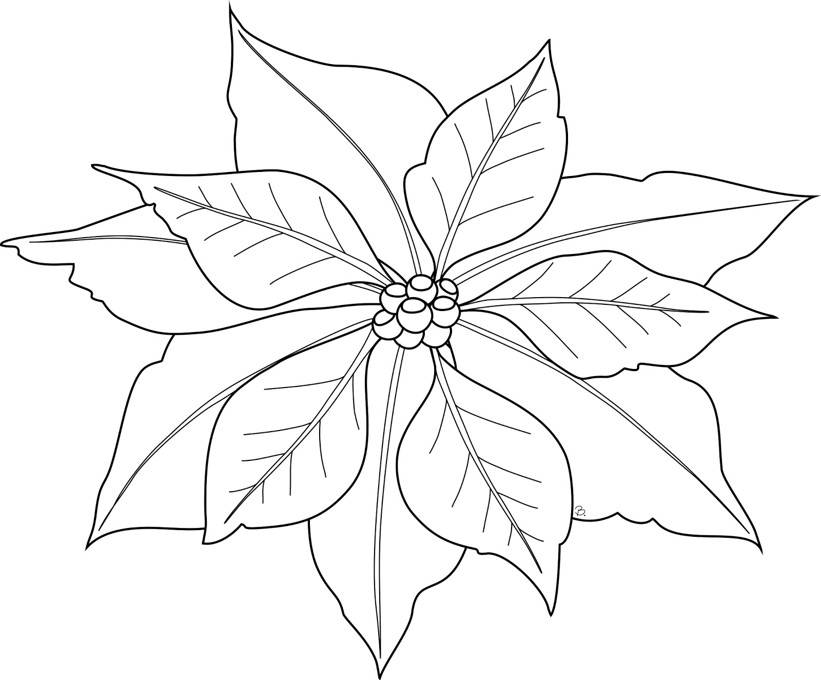 poinsettia coloring page poinsettia in a bucket for poinsettia day coloring page coloring page poinsettia