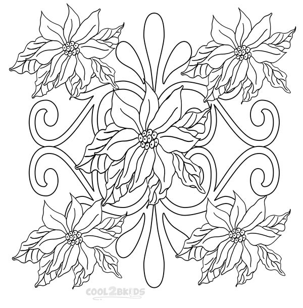 poinsettia coloring pages christmas poinsettia coloring page at getcoloringscom poinsettia pages coloring