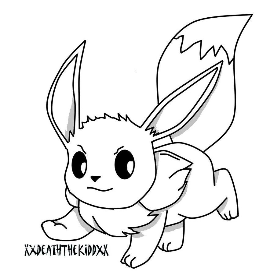 pokemon coloring pages eevee eevee coloring page gif by rpgk12 photobucket coloring eevee pokemon pages