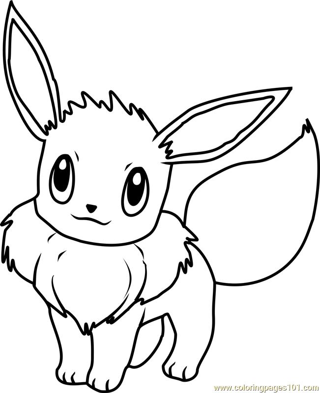 pokemon coloring pages eevee eevee coloring pages to download and print for free eevee coloring pokemon pages