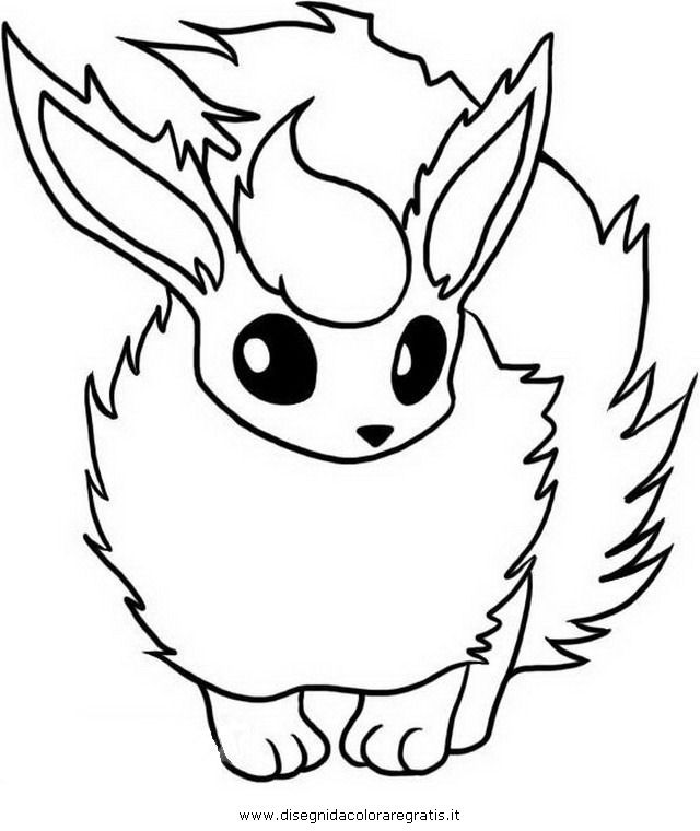 pokemon coloring pages eevee eevee from pokemon coloring home eevee coloring pokemon pages