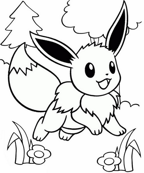 pokemon coloring pages eevee pokemon coloring pages eevee evolutions coloring home eevee pages pokemon coloring