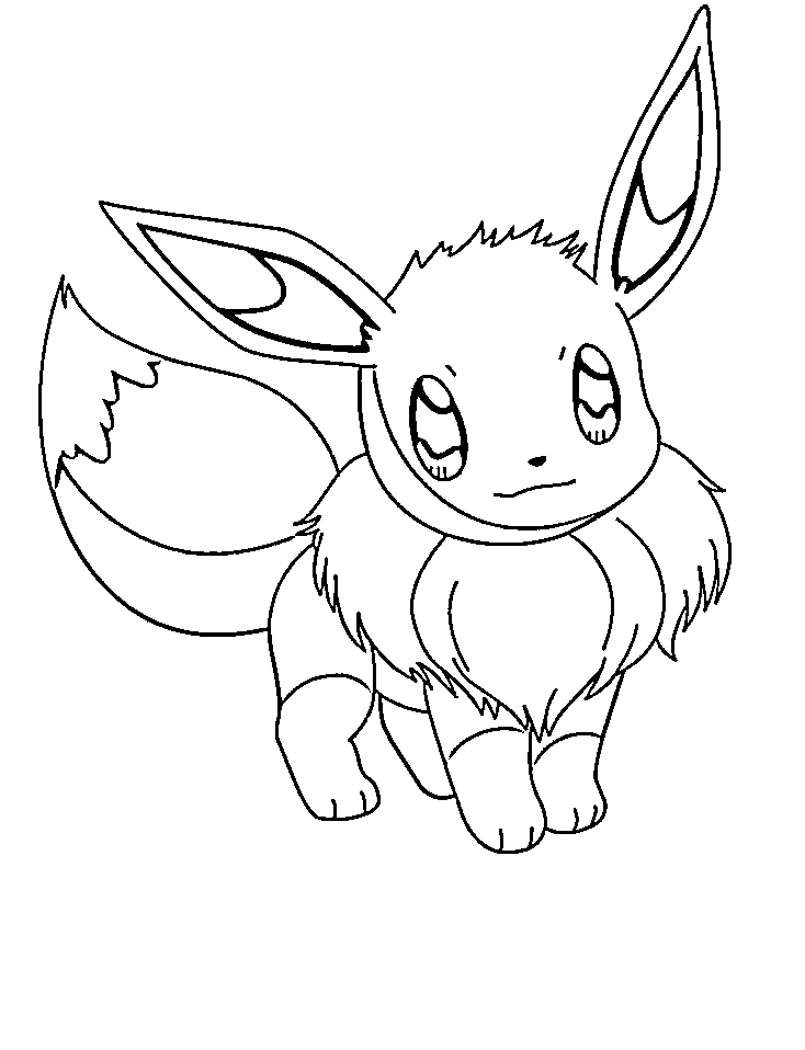 pokemon coloring pages eevee pokemon coloring pages eevee evolutions coloring home pages pokemon eevee coloring